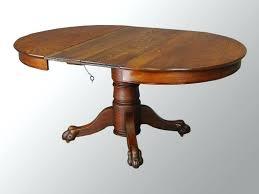 antique round oak table antique oak drop leaf table value