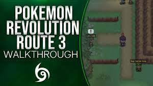 Pokemon Revolution Online: Route 3 Walkthrough! Pokemon Revolution online  gameplay - YouTube