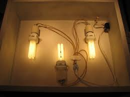 how to make a cheap lightbox light fixture wires are not color coded at Light Box Wiring