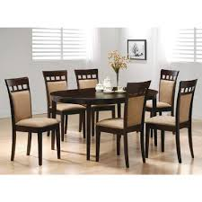 oval kitchen table and chairs. Full Size Of Furniture:contemporary Cappuccino Finish Dining Table Sets With Solid Wood Oval Chairs Large Kitchen And N