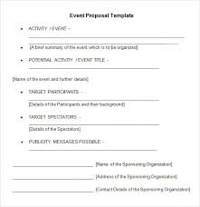 Event Proposal Letter 12. Catering Proposal Letter Format Event For ...