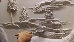 drywall sculptures of bernie mitchell