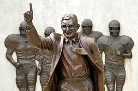 penn state ethics class takes on sandusky scandal here now the statue of former penn state head football coach joe paterno is now in storage
