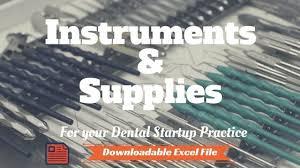 Dental Office Equipment List Where To Begin For Your Startup