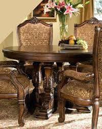 dining room michael amini round table court furniture excelsior
