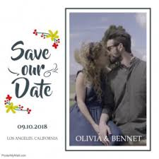 Save The Date Card Templates Postermywall