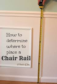 determine chair rail placement according mathematical formulas used by the ancient greeks to determine the perfect number perfect and points of