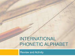 It was devised by the international phonetic association as a standardized representation of the sounds of spoken language. International Phonetic Alphabet American English Vowels Word And Phra