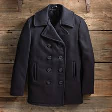Usn Pea Coat Size Chart U S Navy Wool Peacoat In The Navy Now
