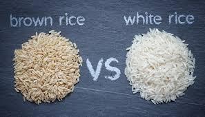 brown rice vs white rice. Beautiful White And Brown Rice Vs White