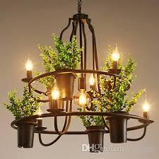 pendant lamps creative personality chandeliers american european industrial vintage artistic chandelier flower clothing club bar
