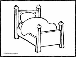 Tekening Bed