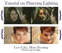 tutorial on flattering lighting photo by emilie