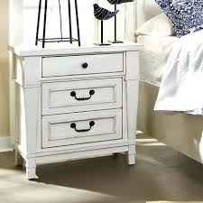 rustic white nightstand. Rustic White Nightstand Distressed Shown In Paint Willow N
