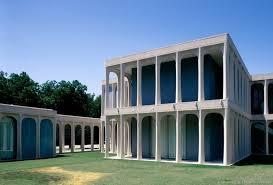 Beck Residence | Philip Johnson | Dallas, Texas | 1964 | Renovation by  Bodron+Fruit Arch… | Philip johnson architecture, Architecture exterior,  Architecture details