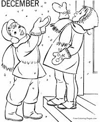 Check out our collection of free winter coloring pages. Winter Coloring Pages Sheets And Pictures