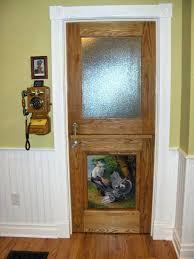interior dutch door with glass doors for