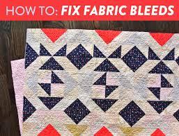 How to Fix Fabric Bleeds - Suzy Quilts & Fix-Fabric-Bleed Adamdwight.com