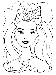 Disegni Barbie Sirena Az Colorare