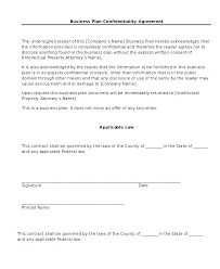 Simple Nda Template Sample Of Non Disclosure Agreement Form Template Employee