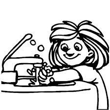 washing hands clip art black and white. Unique Hands Hand Washing Clipart Black And White  ClipartFest Svg Transparent For Washing Hands Clip Art Black And White N