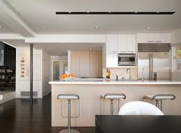 modern track lighting fixtures. Modern Track Lighting Kitchen Track Lighting Fixtures  Modern With Bleached Wood Cabinets