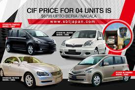 Sbt japan facilitate the purchase and the exportation of used cars from japan, korea, america, europe every car exported by sbt japan is carefully inspected and will meet the compliance and. Sbt Japan Super Savings Sale Facebook