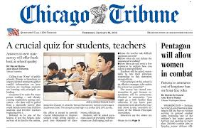 Image result for chicago tribune cover
