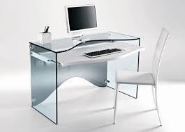 home office glass desk. Tonelli Strata Glass Desk Home Office L
