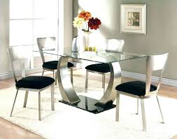 best dining room tables metal dining room sets black glass top dining table modern glass dining