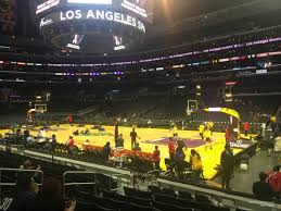 Staples Center Boxing Seating Chart Staples Center Section 118 Clippers Lakers Rateyourseats Com