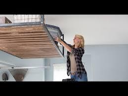 Garage door opener wall mount Space Saving Liftmaster Wall Mount Garage Door Opener 8500w Youtube Liftmaster Wall Mount Garage Door Opener 8500w Youtube