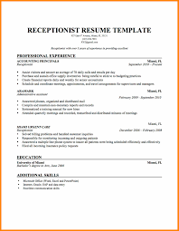 Awesome Collection Of Receptionist Cover Letter Example Resume