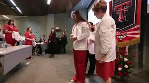 Gayle Greve Hunt School of Nursing students get their white coats