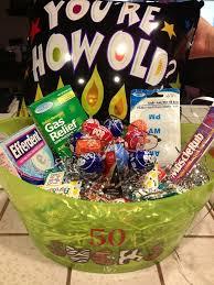 50th gift basket idea