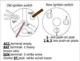 need help installing new ignition switch, different and dpo'd 3 position ignition switch wiring diagram at Ignition Switch Wiring