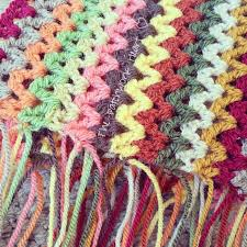 V Stitch Crochet Pattern Best The Patchwork Heart The Amazing V Stitch