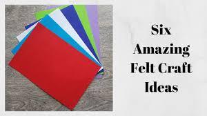Felt Design Ideas 5 Diy Felt Craft Ideas