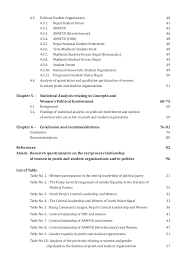 gender equality in political youth student organizations research federal youth federation 40 5