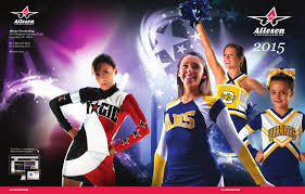 Alleson Cheer Size Chart Alleson Cheerleading Catalog 2015 By Lts Legacy Team Sales