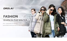 Orolay Women S Thickened Down Jacket Size Chart Details About Orolay Womens Thickened Down Jacket Most Wished Gift Ideas