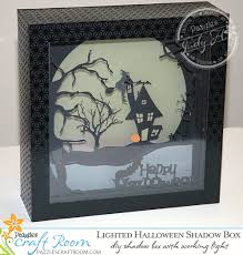 Remember to make your halloween wishes. Lighted Halloween Shadow Box With Instant Svg Download