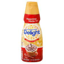 I was able to purchase and try international delight's peppermint mocha coffee creamer over the past few weeks. International Delight Peppermint Mocha Liquid Coffee Creamer Shop Coffee Creamer At H E B