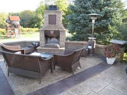 outdoor fireplace vs fire pit outdoor fireplace paver patio plans