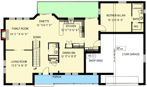 Farmhouse Plans With Mother In Law Suite  Homes ZoneIn Law Suite Plans