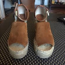 Marc Fisher Shoes Size Chart Marc Fisher Adalyn Espadrille Wedge In Tan Saddle