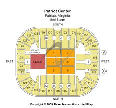 Patriot Center Seating Chart View Universal Studios