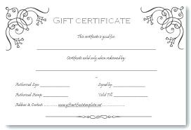 Homemade Gift Card Holder Template Simple Certificate Word Voucher