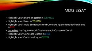 "the most dangerous game"" by richard connell ppt video online  mdg essay highlight your attention getter in orange"
