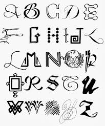 Cool Ways To Write Letters Of The Alphabet Margaret Shepherd